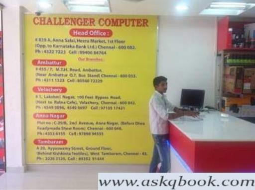 Challenger Computers, Tambaram West - Computer Repair & Services In