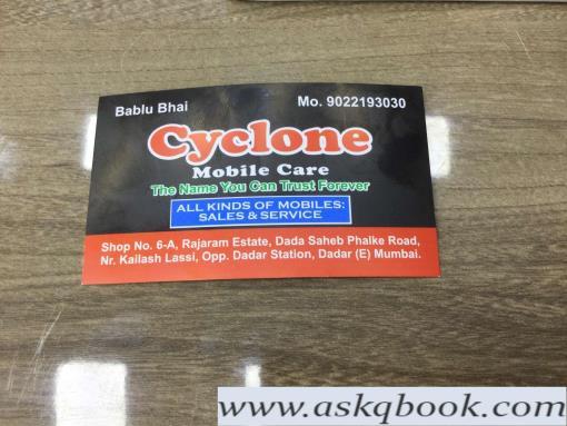 Cyclone Mobile Care, Dadar East - Mobile Phone Dealers In