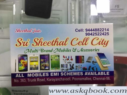 Sri Sheethal Cell City, Poonamallee - Sri Sheethal Cell Citi